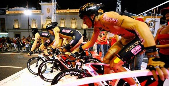 Footon Servetto Fuji - Salida Vuelta España - Queremos Hacer Una Peli