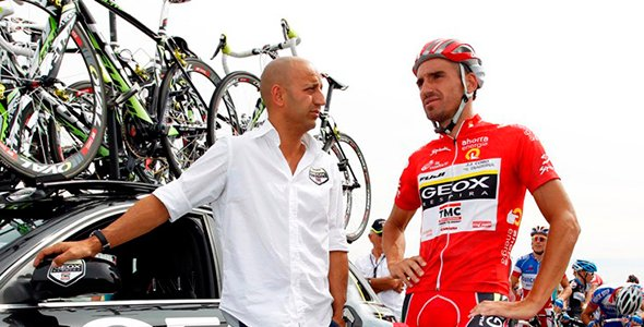 Josean Fernandez Matxin y Juanjo Cobo, ganadores Vuelta España